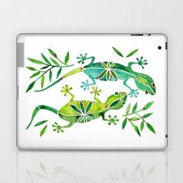 Geckos – Green Palette Laptop & iPad Skin