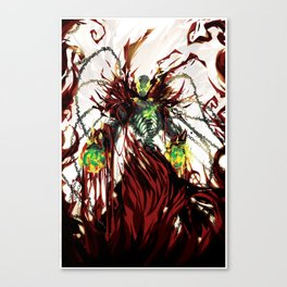 Hells Wrath Canvas Print