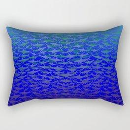 Sharks In Deep Water. Rectangular Pillow