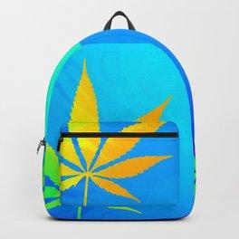 GreenRush - PopLeaf Blue Backpack