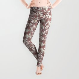 watercolor pomegranates Leggings
