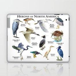Herons of North America Laptop & iPad Skin