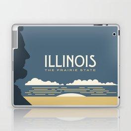 Illinois - Redesigning The States Series Laptop & iPad Skin