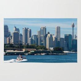 Goat Island, Sydney Harbour Rug