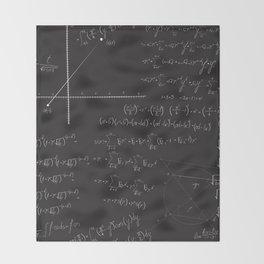 Mathematical seamless pattern Throw Blanket