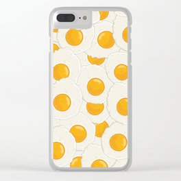 Extra eggs Clear iPhone Case