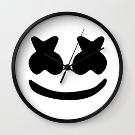 Marshmello smile Wall Clock