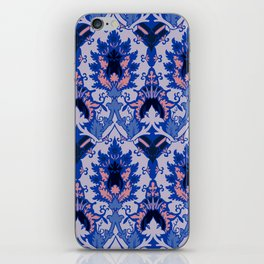 Gothic floral iPhone Skin