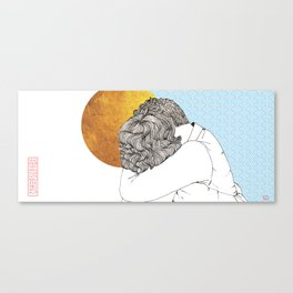 I Missed You So Much Canvas Print