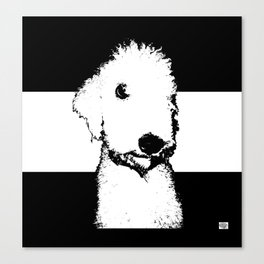 Bedlington Terrier Canvas Print
