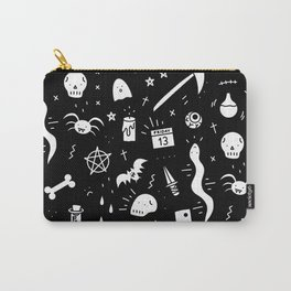 SPOOKY HALLOWEEN! - PATTERN Carry-All Pouch