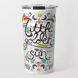 Little Golden Sun Travel Mug
