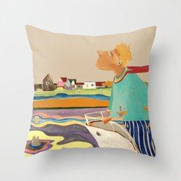 Am Rhein Throw Pillow