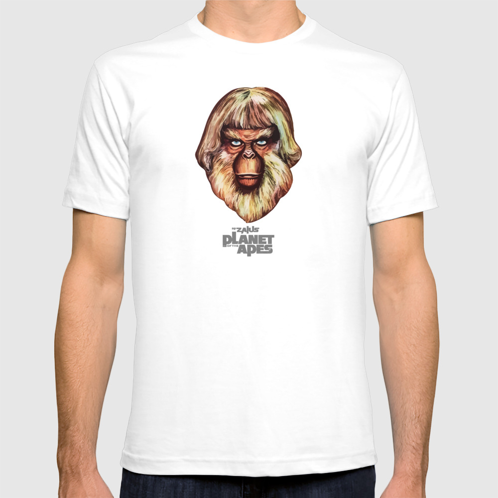 Planet Of The Apes - Dr. Zaius T-shirt by Pinhead66 TSR6966352