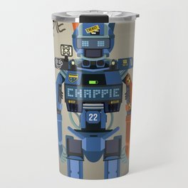 Chappie vector fanart Travel Mug