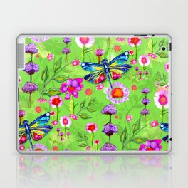 Tropical Dragonfly Garden Laptop & iPad Skin