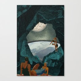 Space Spelunking Canvas Print