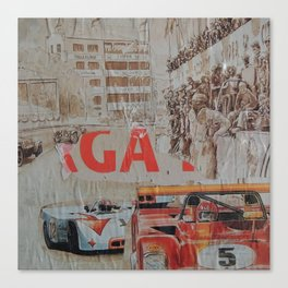 Tribute to Targa Florio Canvas Print
