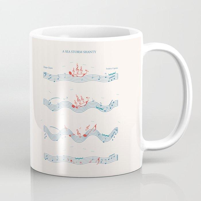 Nautical Notation Coffee Mug