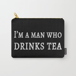 The Tea Quote Carry-All Pouch
