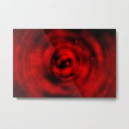 Red-Shifted Metal Print