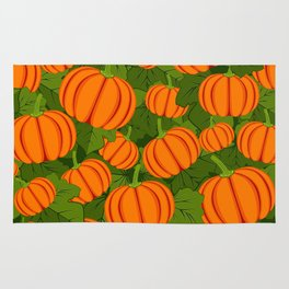 C13D Pumpkin Harvest Rug