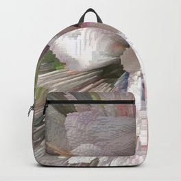 Abstract apple tree Backpack