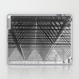 Steal triangular structure of the roof of a turkish bazaar Laptop & iPad Skin