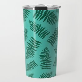 FERN PATTERN {seafoam} Travel Mug