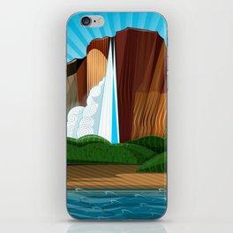 Salto Ángel - Siete Maravillas de Venezuela iPhone Skin