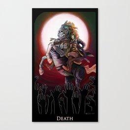 Tarot: Death Canvas Print