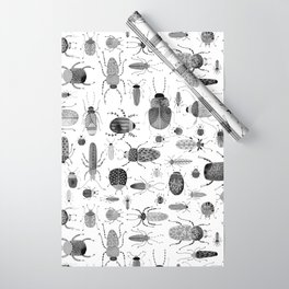 Ink Beetles Wrapping Paper