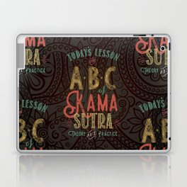 Kama Sutra Lessons Laptop & iPad Skin