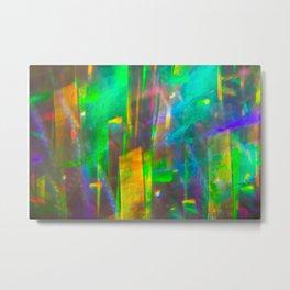 Prisms Play of Light 4 Metal Print