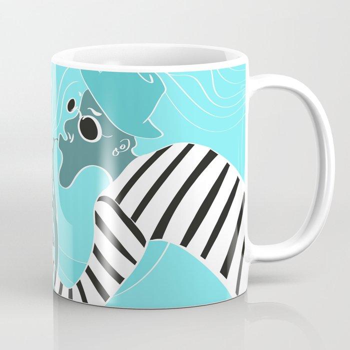Turquoise Jazz Music Festival Coffee Mug