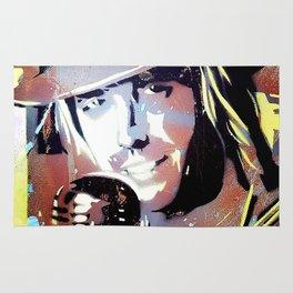 Tom Petty. legend. painting. print. Rug