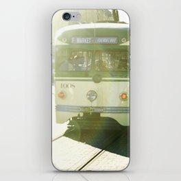 San Francisco Trolley Photograph - 1008 iPhone Skin
