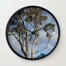 Australian Gum Tree Wall Clock