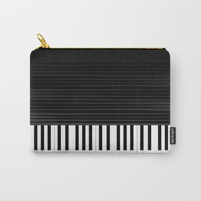 Piano vector art Carry-All Pouch
