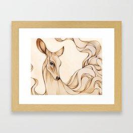 Dreamy Doe Framed Art Print