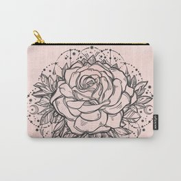Night Rose Carry-All Pouch