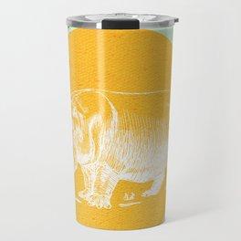 Blossom me Hippo Travel Mug