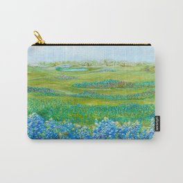 Bluebonnets Carry-All Pouch
