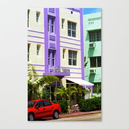 Miami Beach - Art Deco 2003 Canvas Print