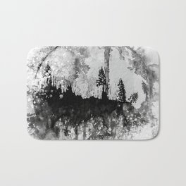 INTO THE FOREST I GO Bath Mat