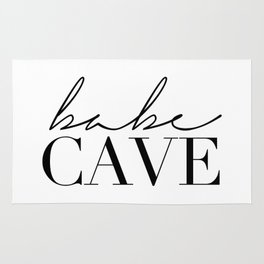 babe cave Rug