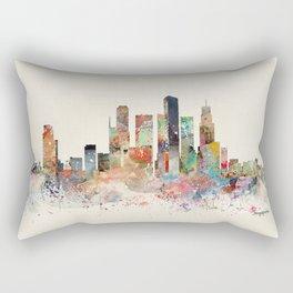 singapore skyline Rectangular Pillow
