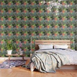 Pastel Columbine Afternoon Wallpaper