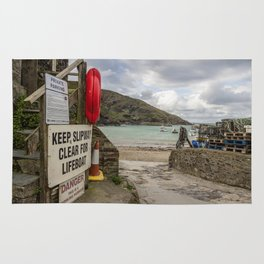 Port Isaac Harbour Rug