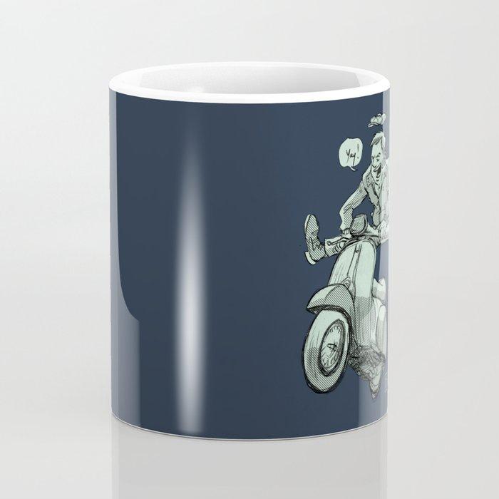 Scootering Coffee Mug